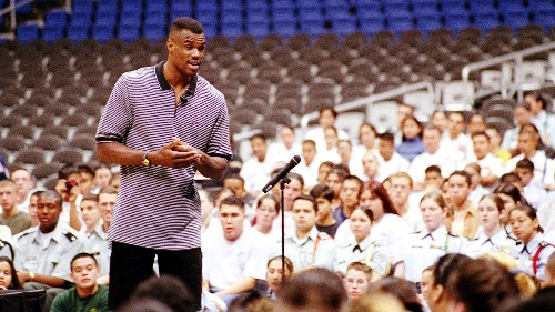 Ex-NBA Star Turned Entrepreneur Fights For Veterans (And His Investment)