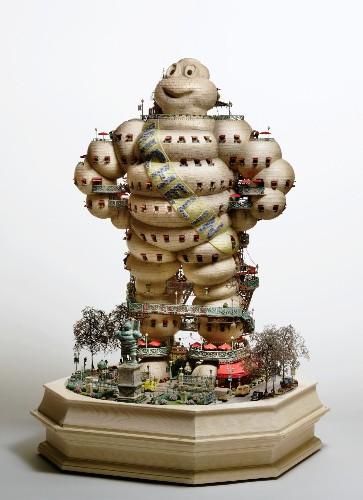 Japanese Artist Takanori Aiba's Tiny Kingdom Sculptures Celebrate The Art Of Bonsai