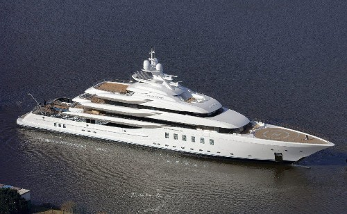 American Owner Launches 311-Foot-Long Megayacht Madsummer