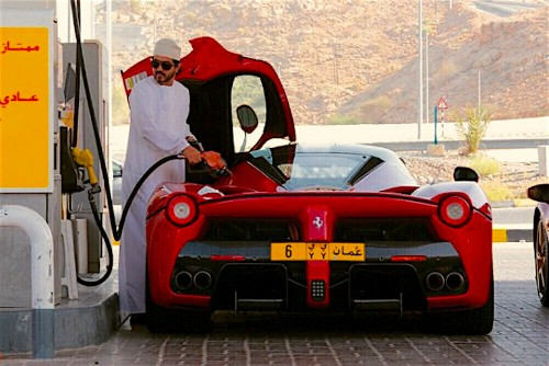 Inside The Secret World Of The Omanya Supercar Rally For Princes And Sheiks
