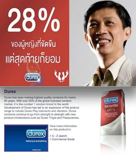 Durex's Sexually Inappropriate Ad Sparks Outrage In Thailand