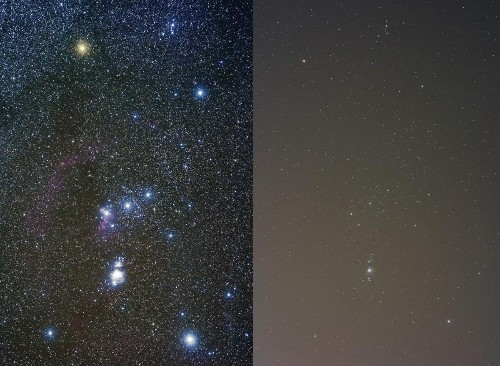 How Come I See Fewer Stars Than I Remember As A Child?
