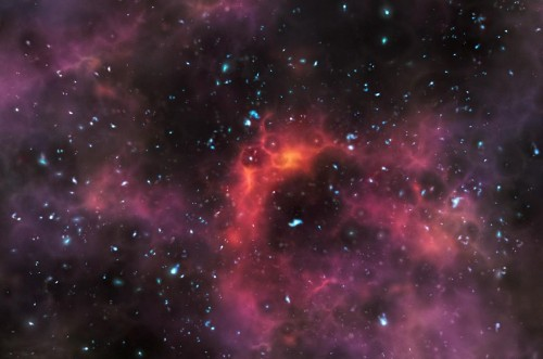 The First Stars In The Universe Are Forever Invisible To Human Eyes