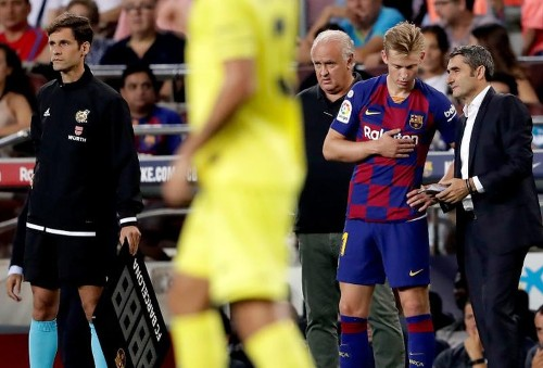 Valverde Continues Changing Midfield Combinations, With De Jong Only Constant At FC Barcelona