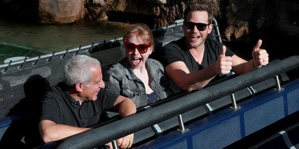 Chris Pratt, Bryce Dallas Howard And More Talk 'Jurassic World: The Ride'