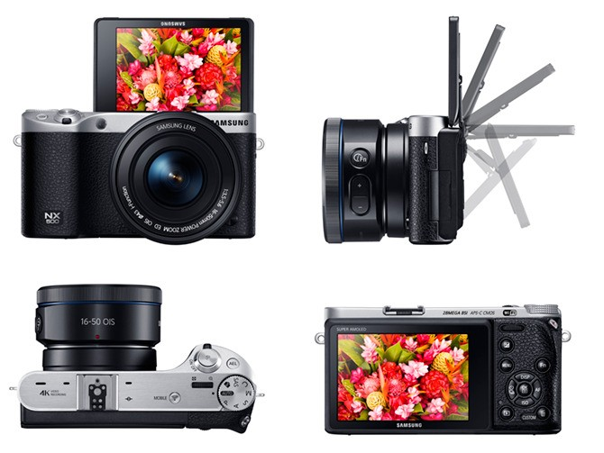 Samsung Launches NX500, A Little Sibling To Its NX1