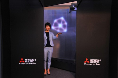 Future Of Digital Advertising: Mitsubishi's Floating Display