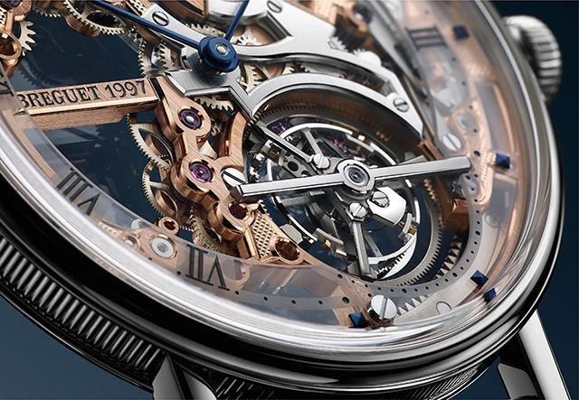 Breguet Reinvents Its Famous Invention With A New Extra-Thin, Skeletonized Tourbillon