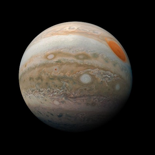NASA Publishes Stunning New 'Jupiter Marble' Image Created By 'Citizen Scientist'
