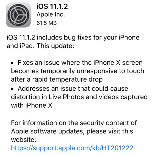 Apple iOS 11.1.2 Release: Should You Upgrade?