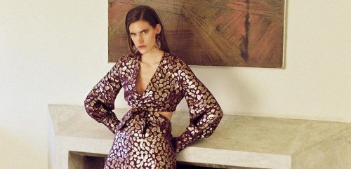 Luxe Fashion Brand Taller Marmo Offer The Most Decadent Of Dresses