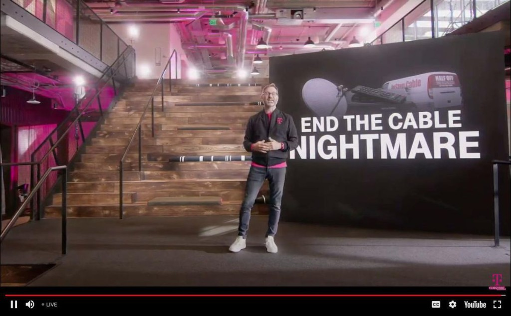 T-Mobile Launches TVision To Help You Fire Cable (Or Satellite) TV