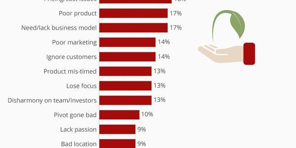The Top Reasons Startups Fail [Infographic]