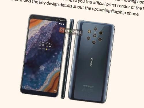 Nokia 9 PureView Images Confirms Five-Lens Camera