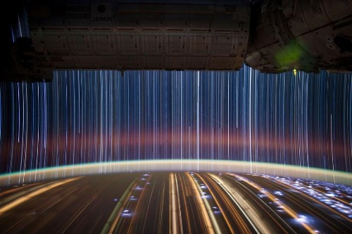 What Do Star Trails Look Like From The ISS?
