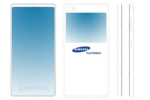 Is Samsung Planning A Dual Display Galaxy Smartphone?