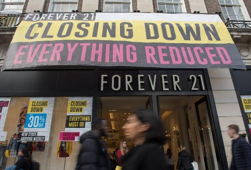 Forever 21 Closes 200 Stores Amid Bankruptcy Proceedings