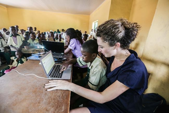 Meet The Woman Who Is Building Digital Schools And Wants To Put Herself Out Of Business