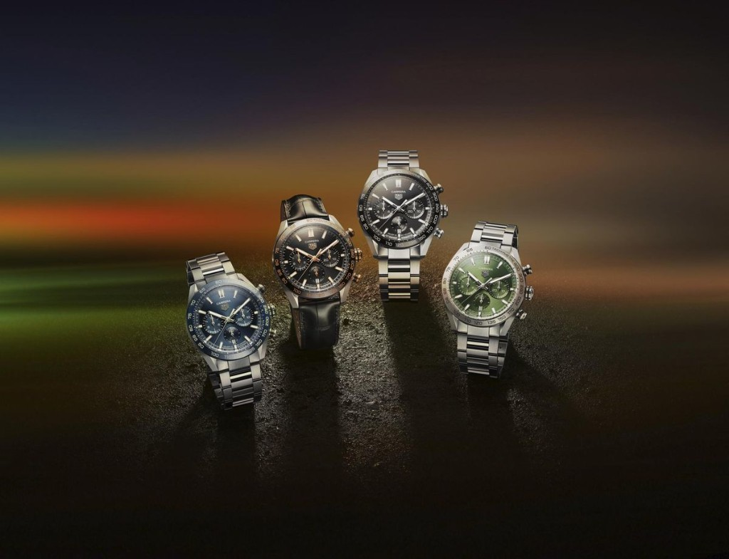 TAG Heuer Launches Carrera Sport Chronograph Collection Honoring 160 Years