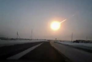 Meteor Strikes Russia While Asteroid Misses Earth