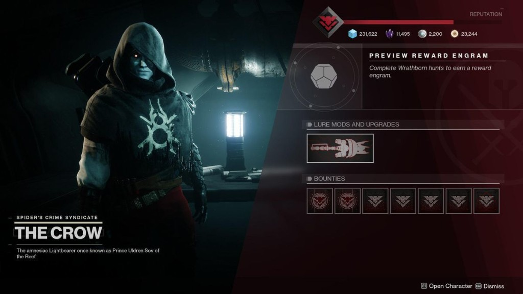 Destiny 2 Reset Update: Wrathborn Hunts Live, Crow The Henchman And New Weapons