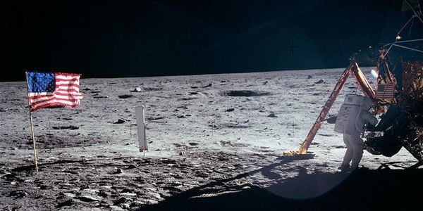 This Is The Only Photo Of Neil Armstrong On The Moon