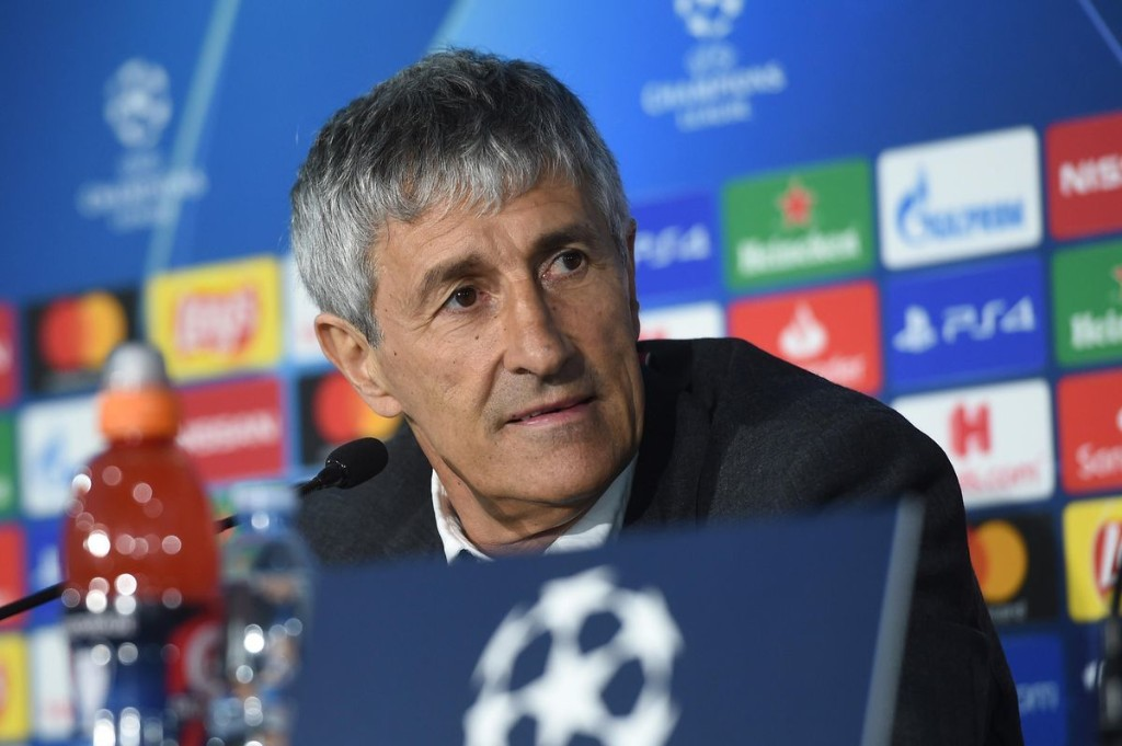 Barcelona's Setien Speaks On Napoli Champions League Clash, Possible Firing, And Team's New Identity
