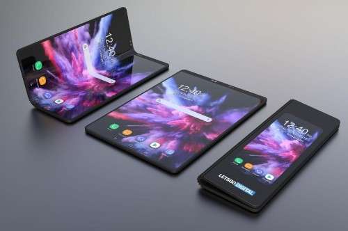 New Galaxy Images Reveal Samsung's Radical Folding Feature