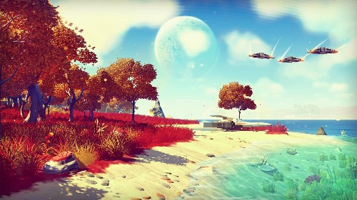 'No Man's Sky' Packed With Activities -- Space Combat, Trading, Mining, Even Terraforming