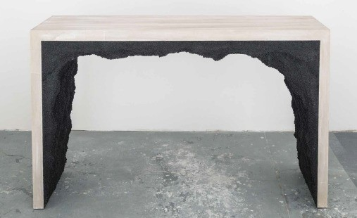 New York's AMMA Studio Chisels Glamorous Furniture From Cement