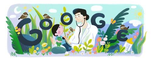 Tuesday's Google Doodle Honors Pediatrician Fe del Mundo