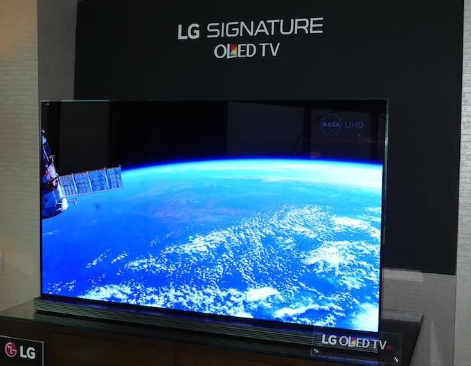 Hands On With LG's New 'Signature' OLED 4K TVs