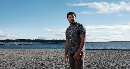 Seattle Seahawks Quarterback Russell Wilson And Amazon Fashion Announce Launch Of Good Man Brand