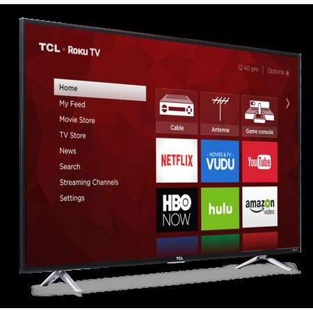 TCL Roku Smart LED TV Is Half Off At Walmart Today