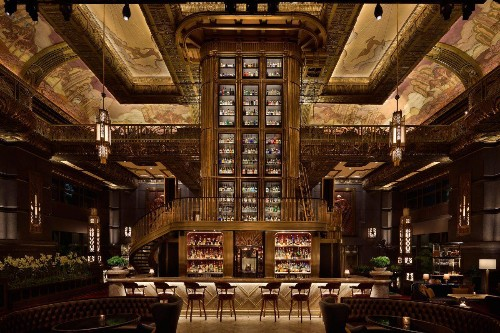 Atlas Has More Than 1,200 Types Of Gin And An Incredible Collection Of Rare Whiskies