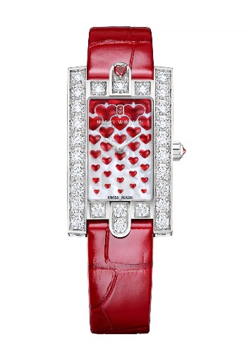 Have A Heart: Harry Winston Avenue Classic Sweet Valentine Watch