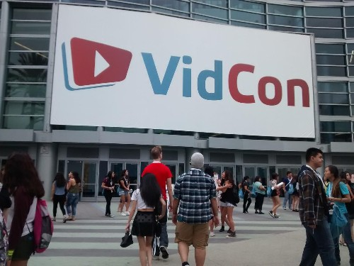 At VidCon YouTube CEO Shows Love For Its Stars, While They Gaze At Other Possibilities