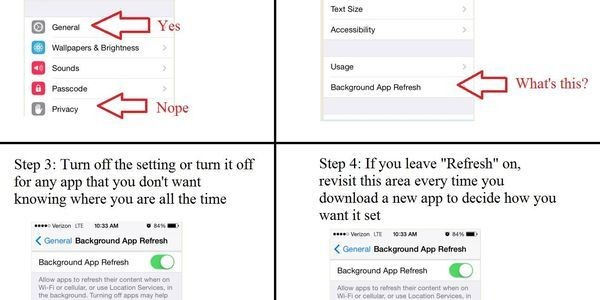 Change This iPhone Setting To Stop Closed Apps From Tracking Your Location