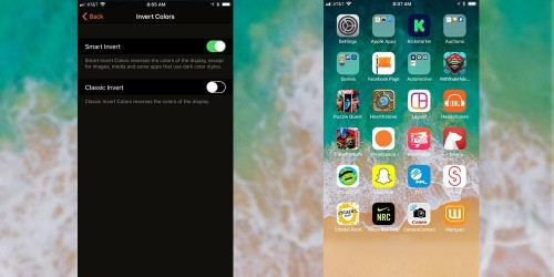 Stupid iPhone Tricks: Hide The Dock And The Secret iOS 11 'Dark Mode'