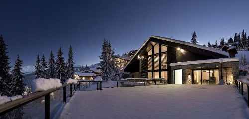 3 Ultra-Exclusive Alpine Ski Chalets