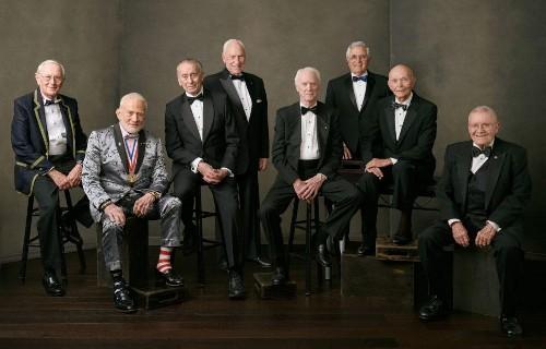 Buzz Aldrin Dazzles In Photo Of Last Remaining Apollo Astronauts