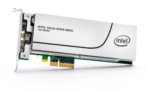 Intel SSD 750 Series PCIe Solid State Drive Leaves Performance Enthusiasts Drooling