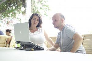 How One Couple Built a Podcasting Business That Lets Them Travel The Globe