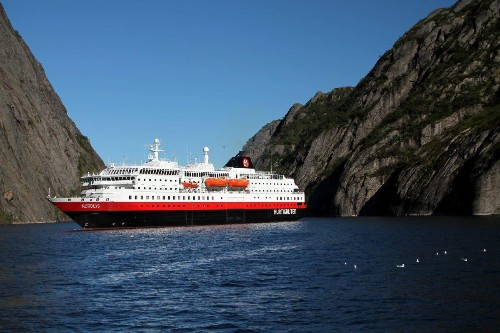 Hurtigruten Announces It Will Fuel Cruise Ships With Dead Fish