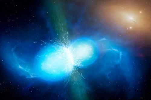 Merging Neutron Stars Deliver Deathblow To Dark Matter And Dark Energy Alternatives