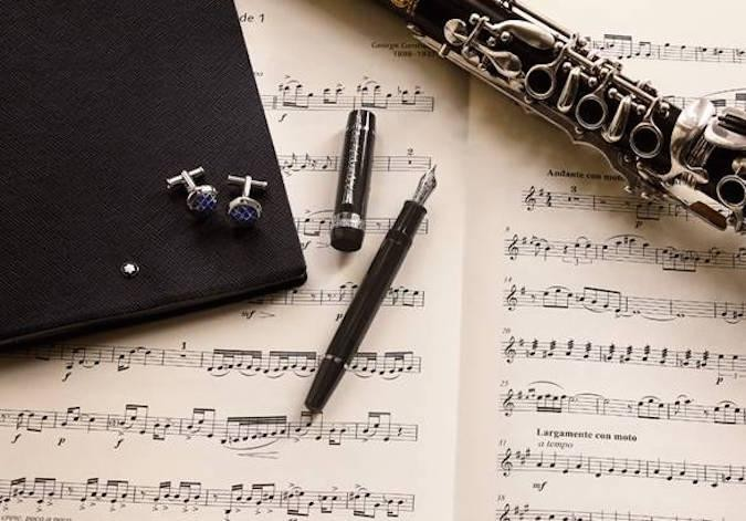 George Gershwin Lives On In Montblanc's Latest Donation Pen