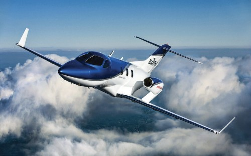 World's Best-Selling Light Business Plane HondaJet Outclasses Rivals With Radical Design