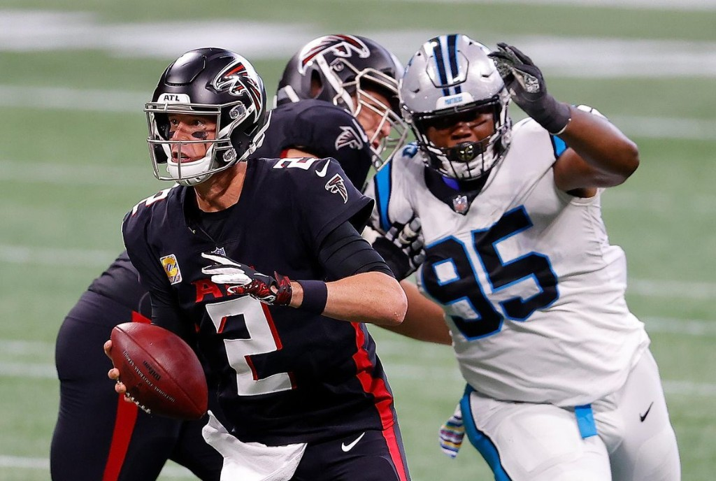 Panthers Vs. Falcons: Thursday Night Football Week 8 Schedule, Odds, Picks