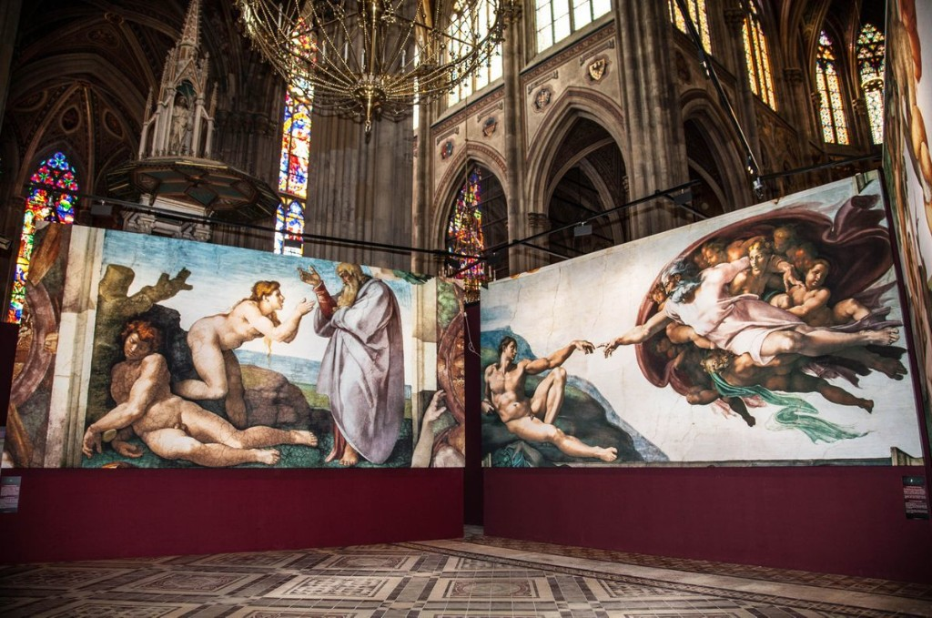 You Can Now Visit Michelangelo's Sistine Chapel Without Leaving The U.S.