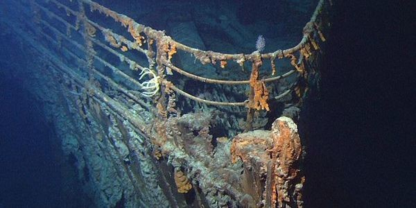 First Images In 15 Years Document Decay Of The Titanic
